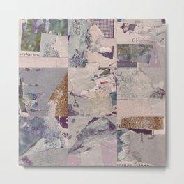 Iceberg of debris Metal Print