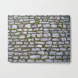 Cobblestone Metal Print