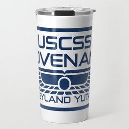 USCSS Covenant - Weyland Yutani - with border Travel Mug