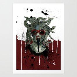 Medusa II Art Print