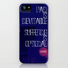 H. Murakami quote -1 iPhone Case