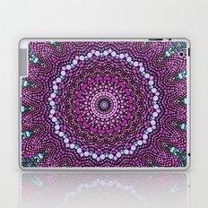 purple and blue kaleidoscope Laptop & iPad Skin