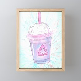 Cotton Candy Framed Mini Art Print