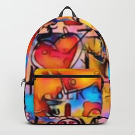 Graffiti Love Backpack