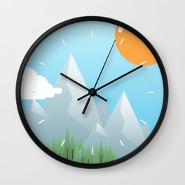 Eat the World Wall Clock