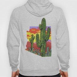 Arizona Saguaro Sunset Hoody