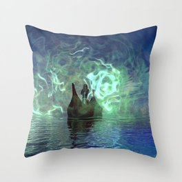 Across The Styx Throw Pillow