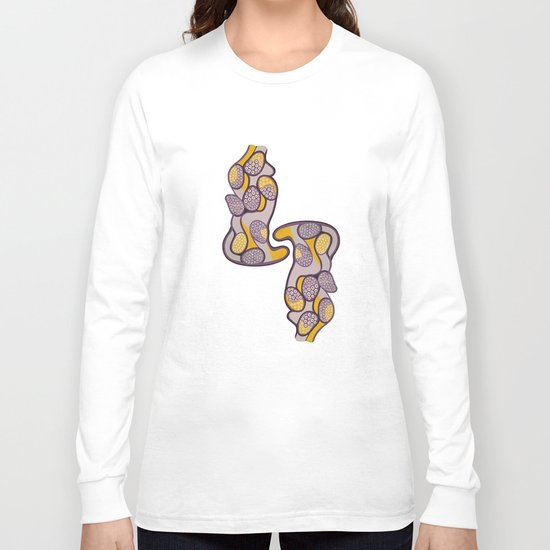 Yellow gossip Long Sleeve T-shirt
