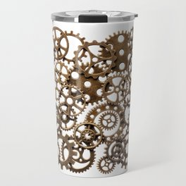 Group of brass pinions Travel Mug