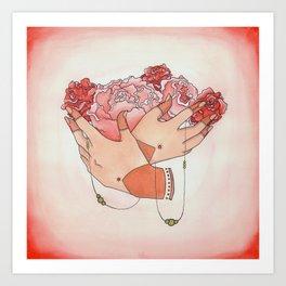 Rosè Art Print