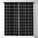 Square Grid Black by bitart