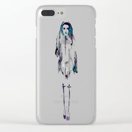 Within This Strange And Frightening World Clear iPhone Case