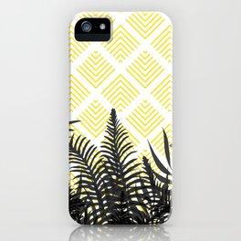 Tropical Ferns on Pattern #society6 #decor #buyart iPhone Case