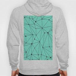 Geometric Mint Hoody