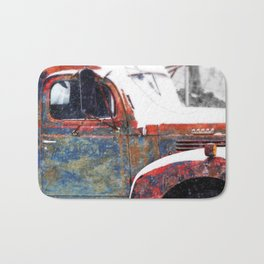 Vintage Field Truck 1 Bath Mat