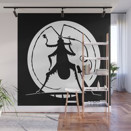 Party in the full moon Wall Mural