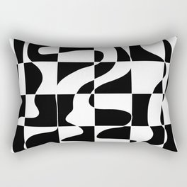 It's Not Always So Black And White Rectangular Pillow