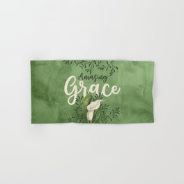 Amazing Grace (green) Hand & Bath Towel
