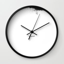 What Came First? Wall Clock