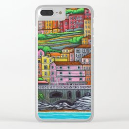 Colours of Manarola Clear iPhone Case