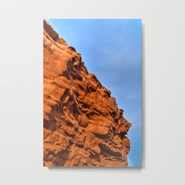 Thunder Cove Stone Sentinel Metal Print