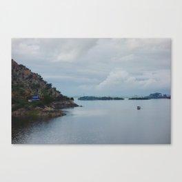 Jaisamand Lake Canvas Print