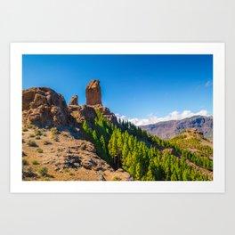 Gran Canaria (RR217) Art Print