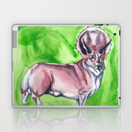Triceratops Corgi Laptop & iPad Skin