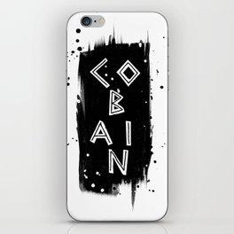 The Legend Series - C O B A I N iPhone Skin