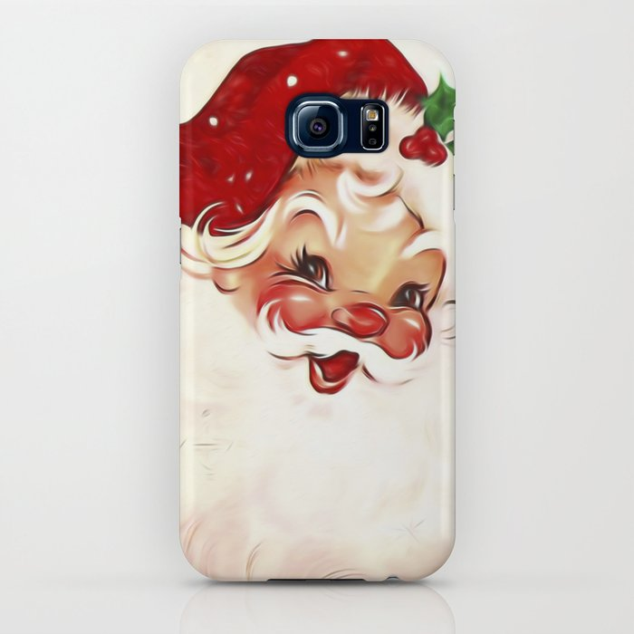 Vintage Santa 4 iPhone Case