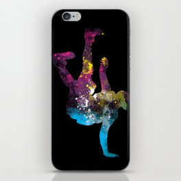 hip hop galaxy iPhone Skin