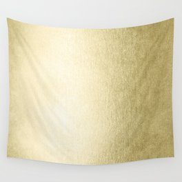 Simply Gilded Palace Gold Wall Tapestry