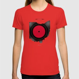 OHIO 33⅓ rpm LP Record T-shirt