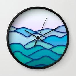 Minimal Landscape 4 Wall Clock
