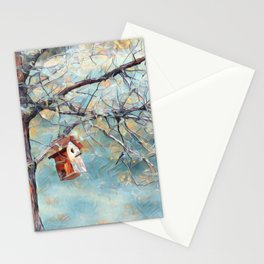 A Chickadees Home Stationery Cards