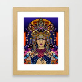 Kali Goddess Framed Art Print