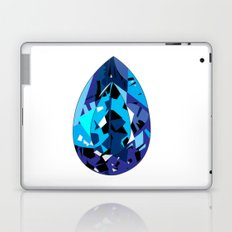 GEMS - blue , shine , single piece Laptop & iPad Skin