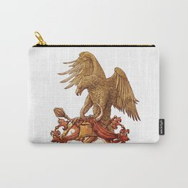 eagle on shield Carry-All Pouch