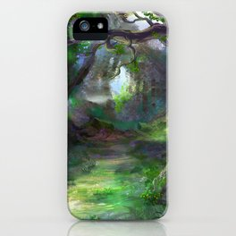 Elven Forest iPhone Case