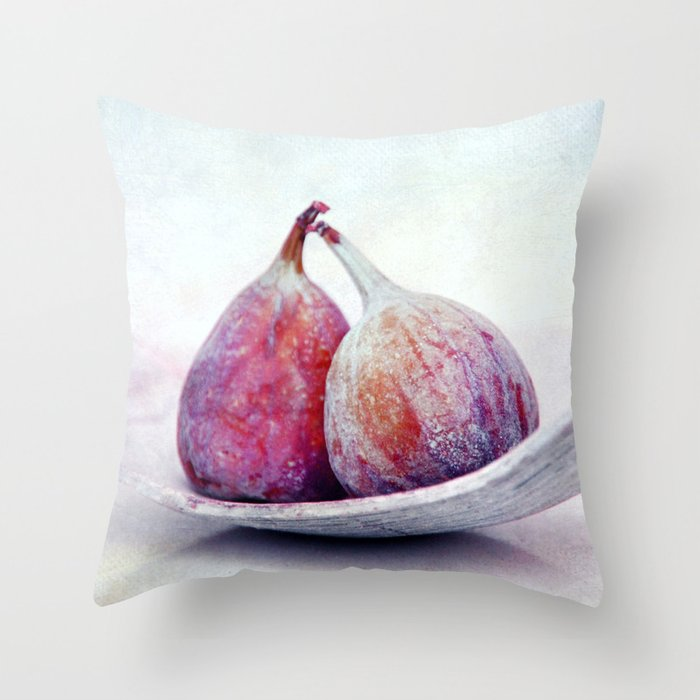 purple fruits III Throw Pillow