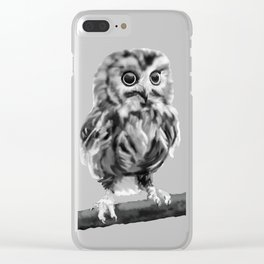 fluffers Clear iPhone Case