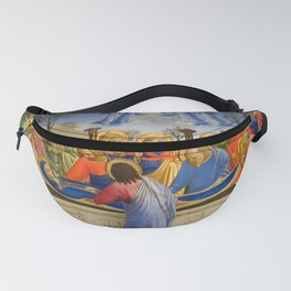"""Fra Angelico (Guido di Pietro) """"The Dormition and Assumption of the Virgin"""" (3) Fanny Pack"""