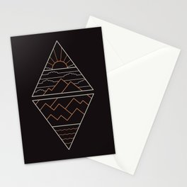 Earth Air Fire & Water Stationery Cards