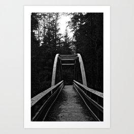 silent bridges Art Print