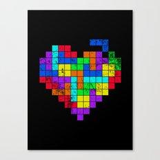 The Game of Love -Dark version Canvas Print