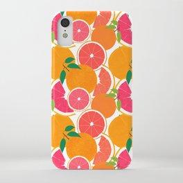 Grapefruit Harvest iPhone Case