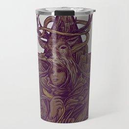 Beautiful Deer Travel Mug