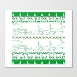 FARMER CHRISTMAS Canvas Print