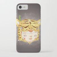 hiccup iPhone & iPod Cases featuring DRUNKEN TIGAAAAR by PAUL PiERROt