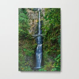 Multnomah Falls, Oregon Metal Print